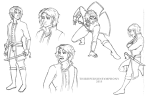 Elock Sketches by ThirdPersonSymphony