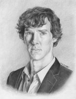 Benedict Cumberbatch by Worldinsideart
