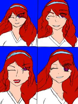 Different art styles! by RiRi-Chan888