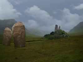 Scotland Premade Background 02 by presterjohn1