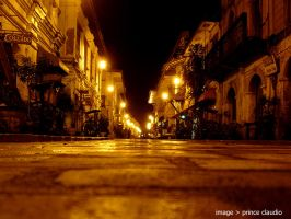 Passing the Streets of Vigan by pclink
