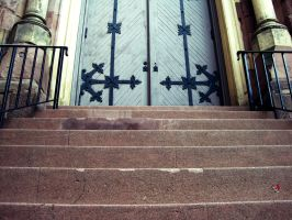 Steps To Church by jemgirl