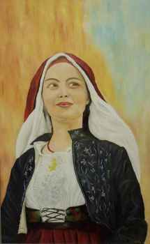 Sardinian woman by meafantasy