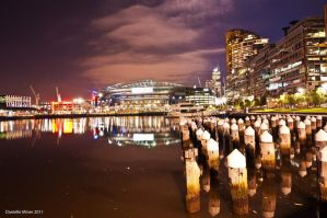 Etihad Stadium Reflections by DanielleMiner