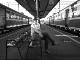 Where is the train. by Kasiuula1993