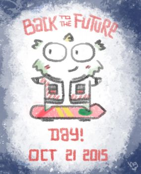 BTTFDay :) by HaruDoodle