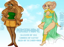 OSAPP: Persephone by etheralvalkyrie