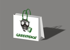 Greenpeace Bag by ristovicmilos