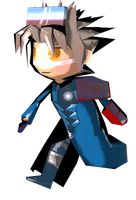 Playin' with the toon shader by Mole-Chan