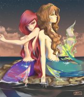 Mermaids. by xARiANNE