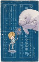 Be My Manatee by Hannakin
