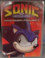Sonic The Hedgehog Doomsday Project DVD by sonicfan40