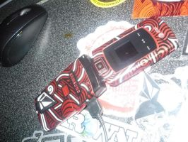 Cell Phone Paint by BakerZero417