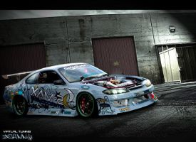 Nissan silvia by Johnny-Designer
