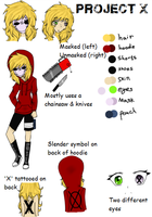 (NEW CP OC) Project X ref by Xx-MayhemOnMisery-xX
