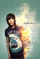 Oliver Sykes - BMTH by baiuneedvicodin