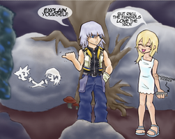 Oh, Namine... by TehPickle