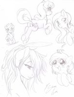 Ponis random by Shinta-Girl