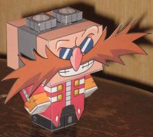 Dr Eggman Cubee by paperart