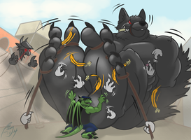 AT: How to Overcome A Giant Furry XP by benj24