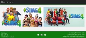 The Sims 4 - Icon by Crussong