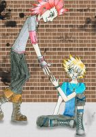 Axel and Roxas by Himmelsblau