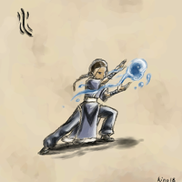 Atla- 4 elements: Water by kino18