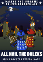 Daleks Are Supreme by Lesquille