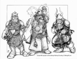 Dwarven Battle Team by itSMEneon