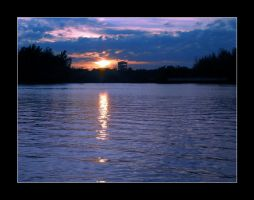 Sunset in Florida by fraga
