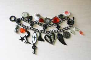 Frights and Delights -Bracelet by MonsterBrandCrafts