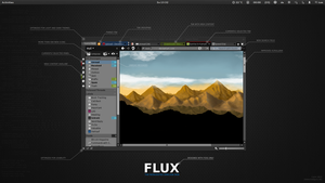 Flux - Opera Skin (Optimized for LINUX) by iviac
