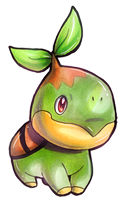 Turtwig by GlassPanda