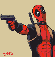 Deadpool for Draw Something by zachjacobs