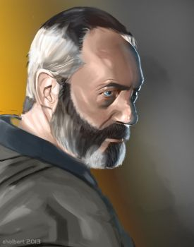 Ser Davos the Onion Knight - Color by Taexhn