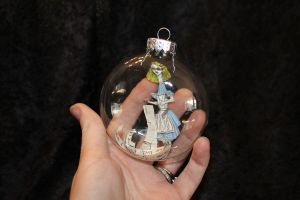 Growing Alice Ornament by wetcanvas