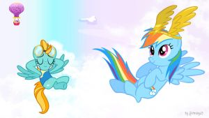 Rainbow Dash Wallpaper 2 by Fluttershy625