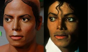 New 2.5 bust MJ comparison by godaiking