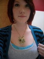 flying spagetti monster necklace by keeper13189