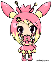 PC: Plusle Gijinka by JadenFLAWLESSx