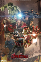 Avengers: Age of Ultron (FAN MADE) Concept Art by DiamondDesignHD