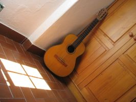 the guitar by Mikiel