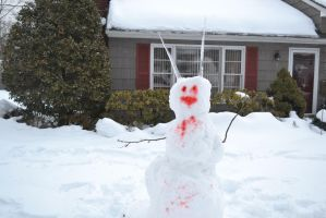 The Demon Snowman by Jaws1996