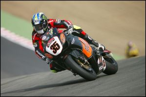 Cal Crutchlow by Canyeolay