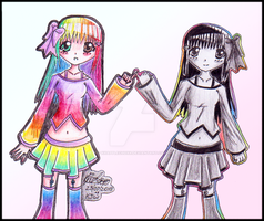 Candy and Lolly by Xxi-luv-applesxX