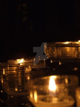 Light a candle for each soul by PhilipCapet
