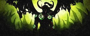 Illidan Stormrage, The Betrayer Lord of Outland by HubbleWise
