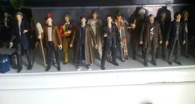 All 13 doctors by r3d80
