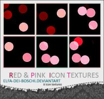 Pink and Red icon textures by Elfa-dei-boschi