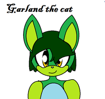 Garland the cat by ShadowBonadow